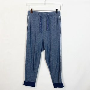 Chalmers Blue Heather Cotton Knit Jogger Small